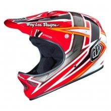Casco TROY LEE DESIGNS D2 PROVEN Rosso 2015